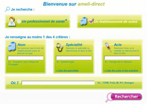 ameli-direct recherche hopital