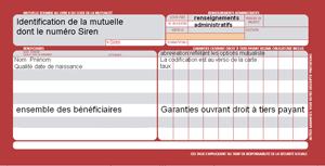 mutuelle à la carte La carte d'Assurance Maladie complémentaire   Mutuelle.fr