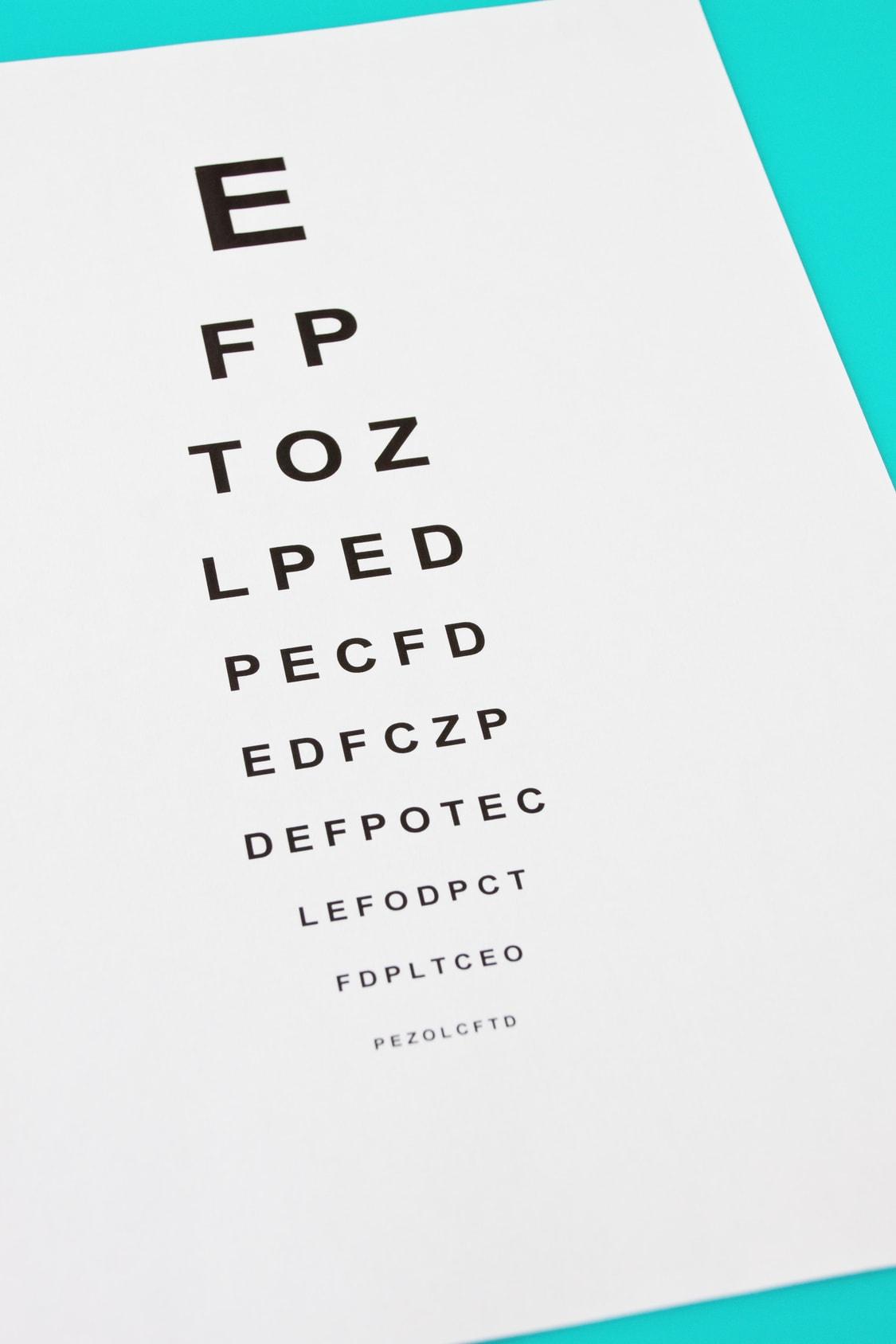 Tableau de lecture optique